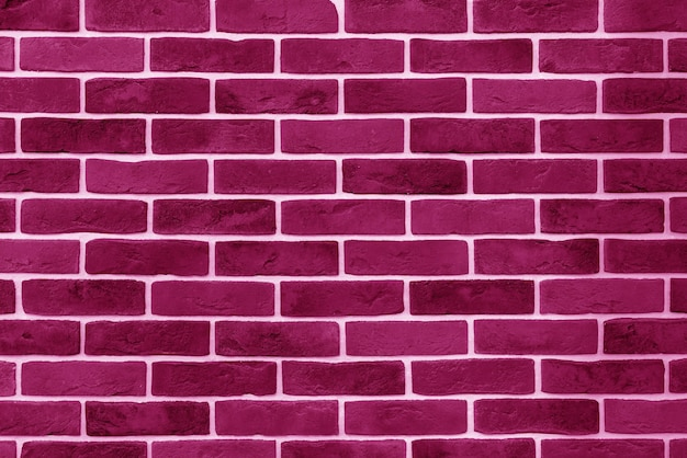Pink brick building wall. interior of a modern loft. background for design