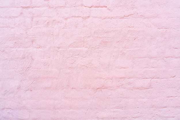 Pink brick wall architectural background