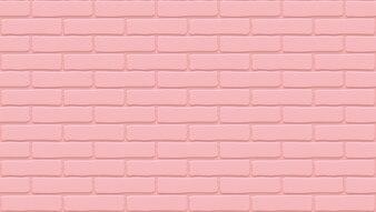Розовая текстура кирпичной стены. Пустой фон Старинная каменная стена.