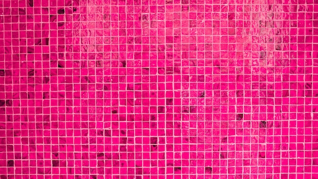 Pink ceramic wall texture - background