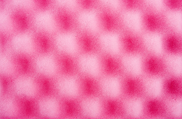 Губка для чистки розового цвета