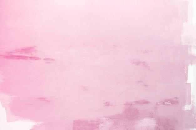 白い壁にピンク色
