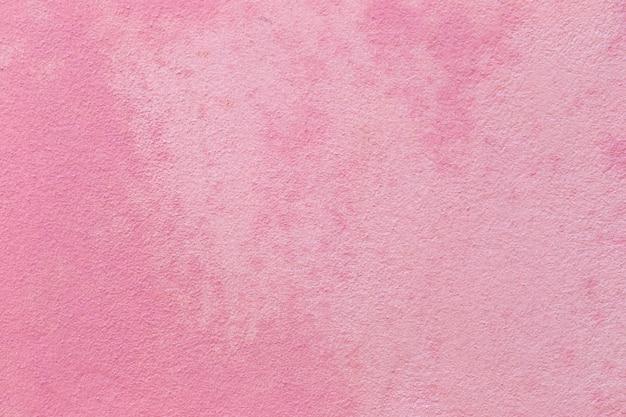 Pink concrete wall.