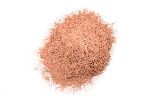 Розовая косметическая глина