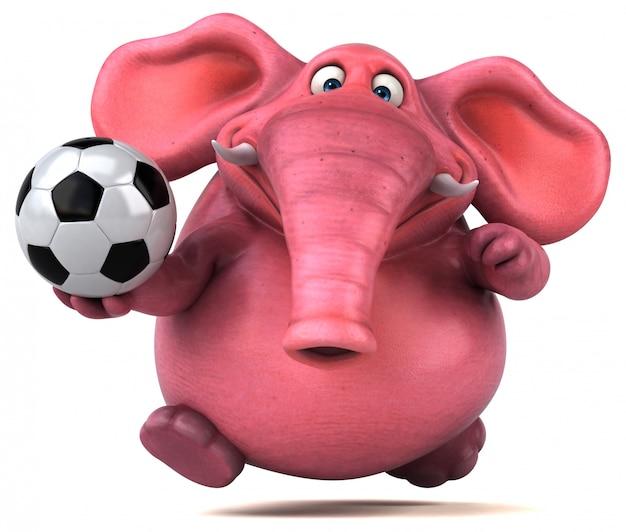 Pink elephant animation