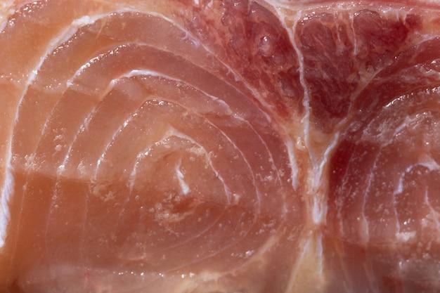 Pink fish fillet