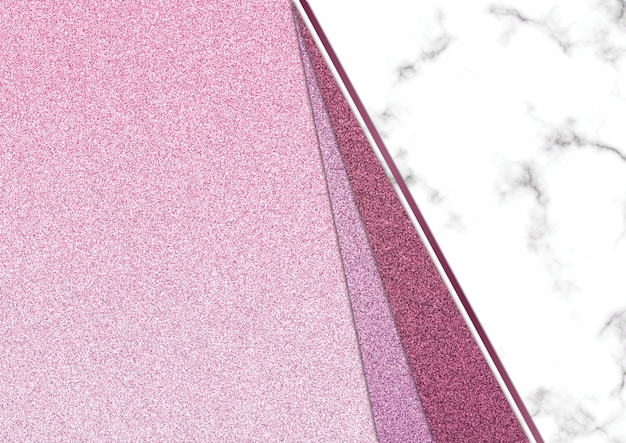 Pink glitter marble blackground, shimmer glitter texture, template presentation