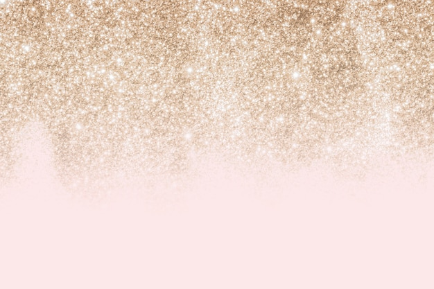 Pink and gold glittery pattern background
