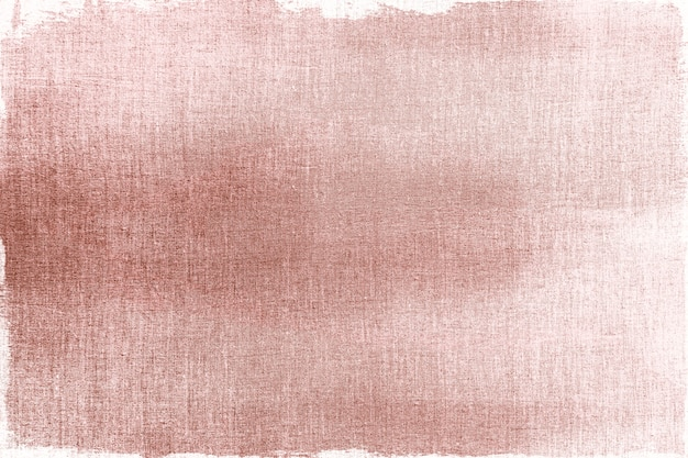 Розовое золото нарисовано на текстурированном фоне ткани