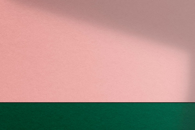 Pink and green product wall