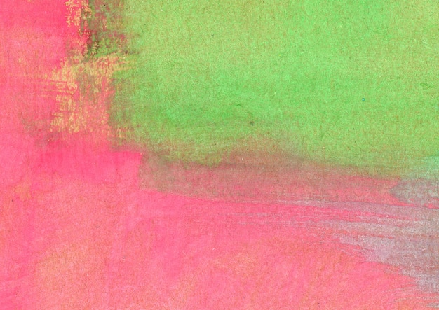 Pink and green watercolor texture