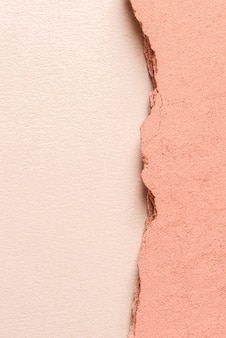 Pink gypsum panel with copy space