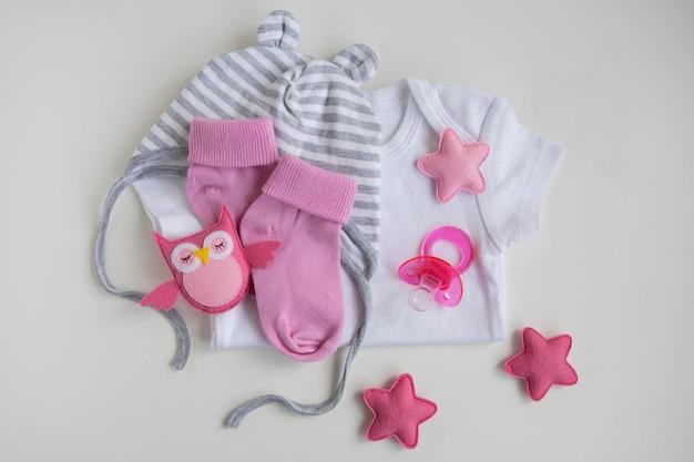 Розовая детская одежда для новорожденных, шапочка для соски для девочек