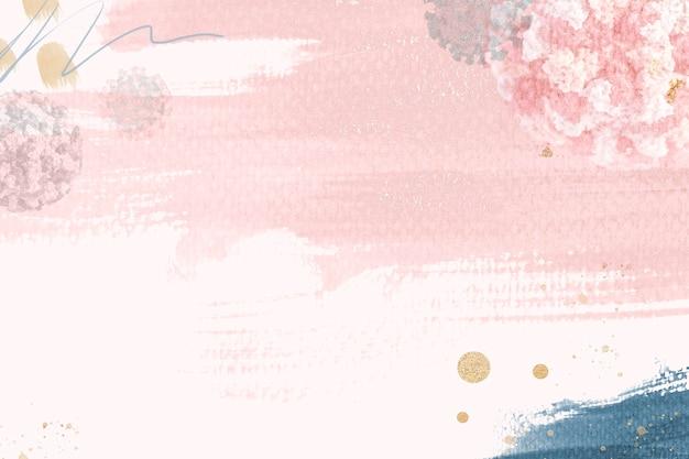ピンクの感染性コロナウイルスの発生