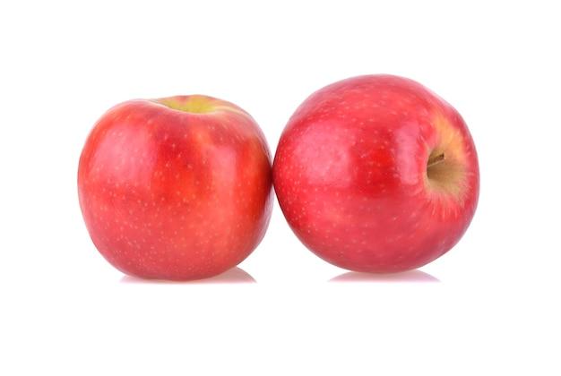 ピンク レディー アップルは、白い背景で隔離