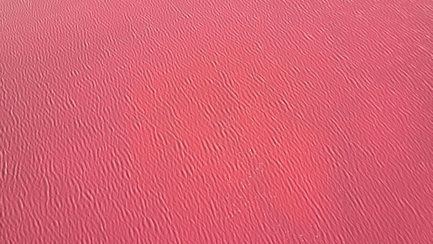 Pink lake water, texture painted with microalgae dunaliella salina