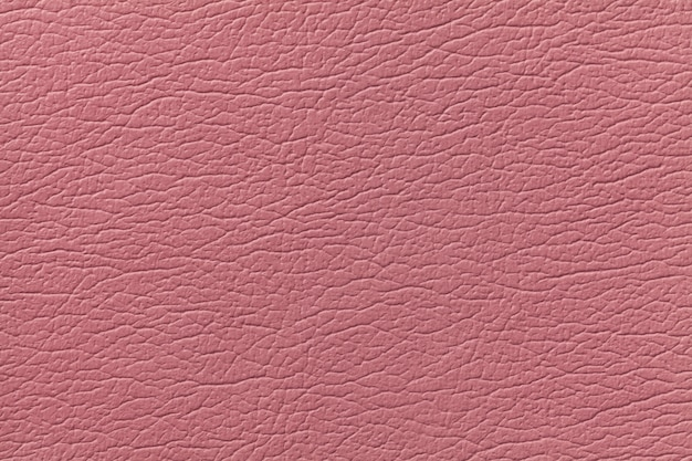 Pink leather texture background with pattern