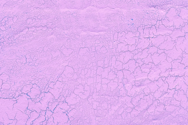 Pink lime plaster with cracks background