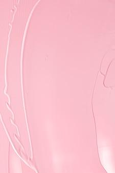 Розовая помада или текстура блеска для губ в качестве косметического фона для макияжа и косметической косметики для роскошного праздничного плоского фона или абстрактного настенного искусства и мазков