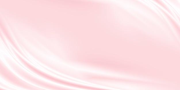 Розовый роскошный фон ткани с копией пространства