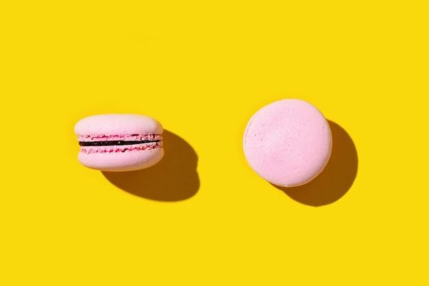 핑크 마카롱, 화려한 프렌치 쿠키 마카롱