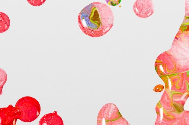 Розовый мраморный водоворот фон ручной работы женственная плавная текстура экспериментальное искусство