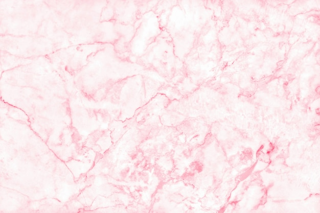 Pink marble texture background, natural tile stone floor.
