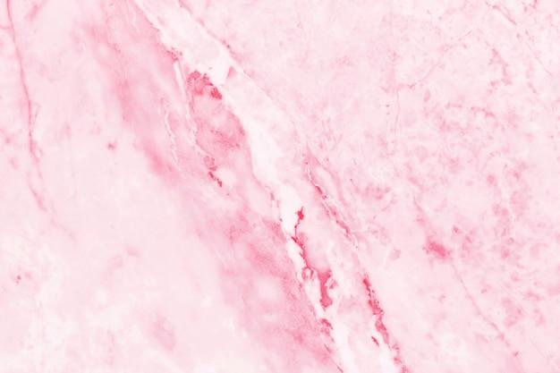 ピンクの大理石のテクスチャ背景。 Premium写真