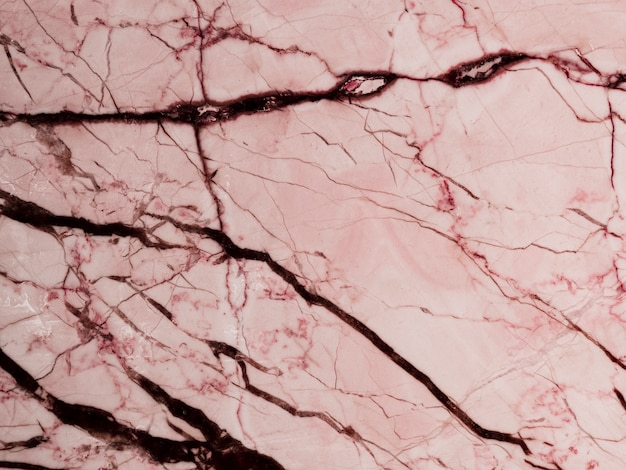 Pink marble textured background