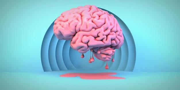 Розовый тающий мозг