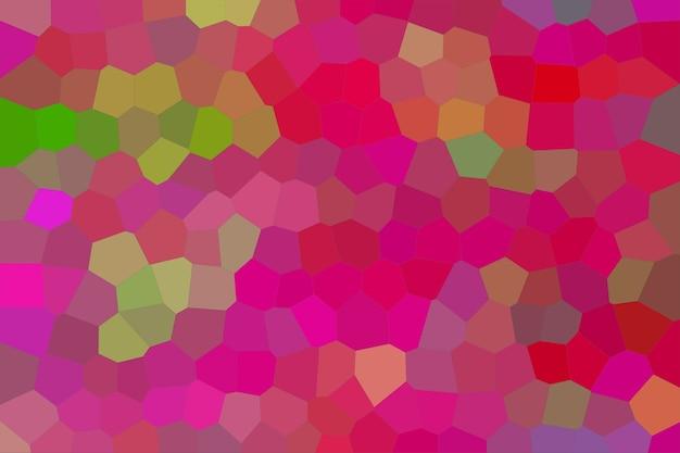 ピンクのモザイク抽象的なテクスチャ背景、グラデーション壁紙のパターン背景