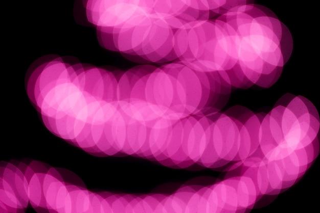 Sfondo di luci al neon rosa