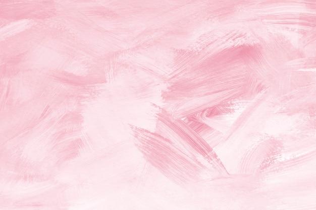 핑크 페인트 브러시 질감 배경
