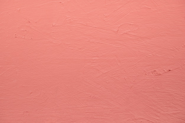 Pink painted textured wall