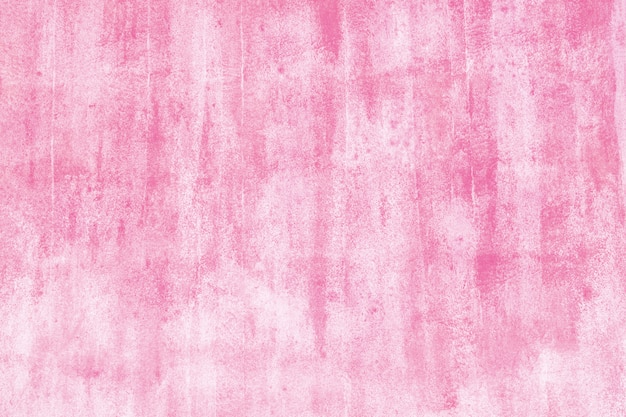 Pink painted on wall background. painted concrete photo texture.