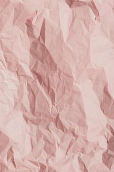 Pink paper crumpled texture