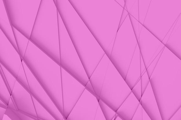 ピンクの紙カット背景