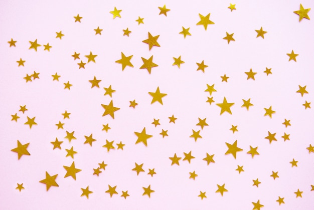 Pink pastel festive background