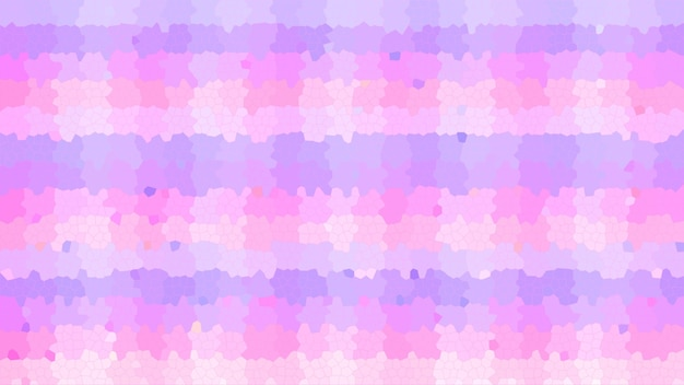 ピンクのパステルモザイク抽象的なテクスチャ背景、グラデーション壁紙のパターン背景
