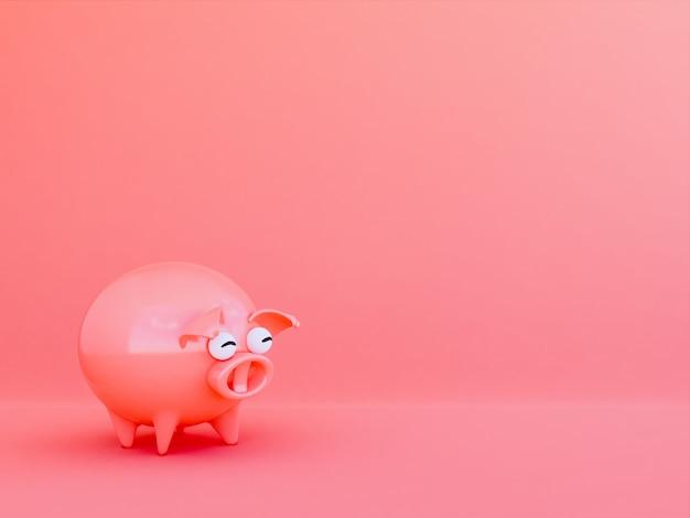 Pink pic  , 3d render
