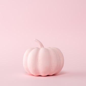 パステルピンクのピンクのカボチャ