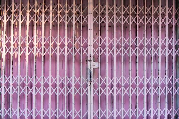 Pink retro door asian