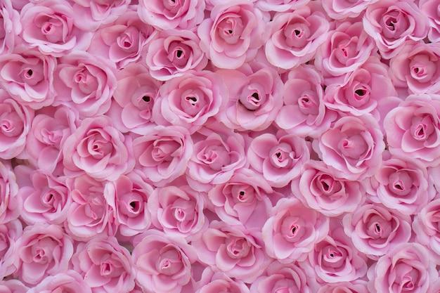 Розовые розы фон.