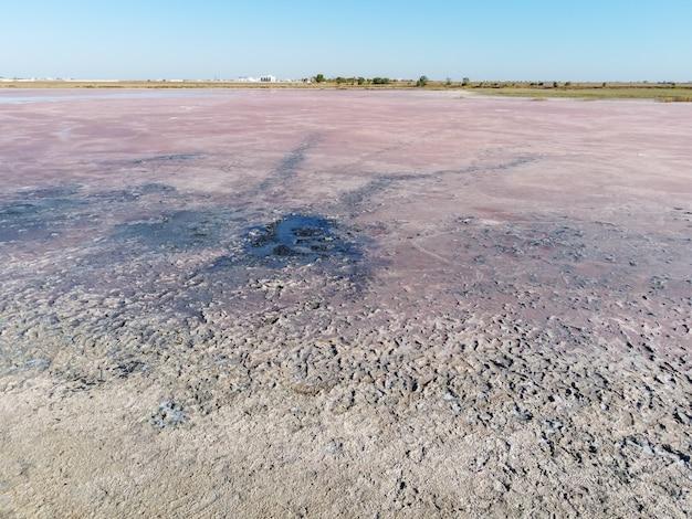 핑크 솔트 레이크 표면, 말린 핑크 솔트 레이크, 핑크 표면
