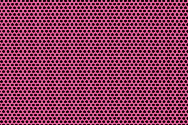 Розовый бесшовный фон текстуры в горошек.