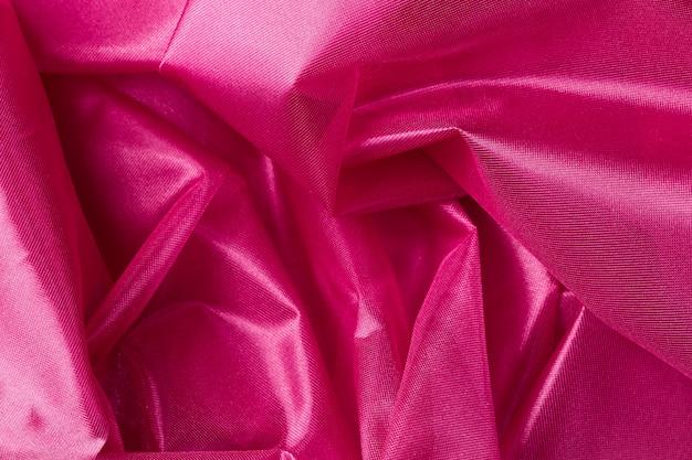 Pink  silk fabric background