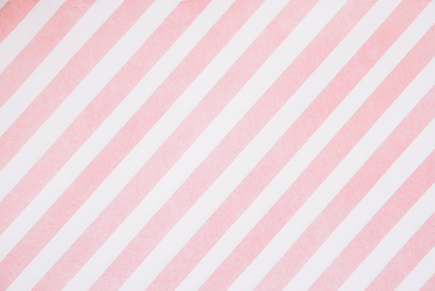 Pink stripes on white board