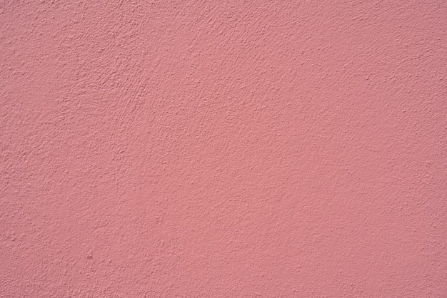Pink stucco texture wall of building