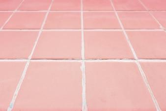 ピンクのタイル張りの背景