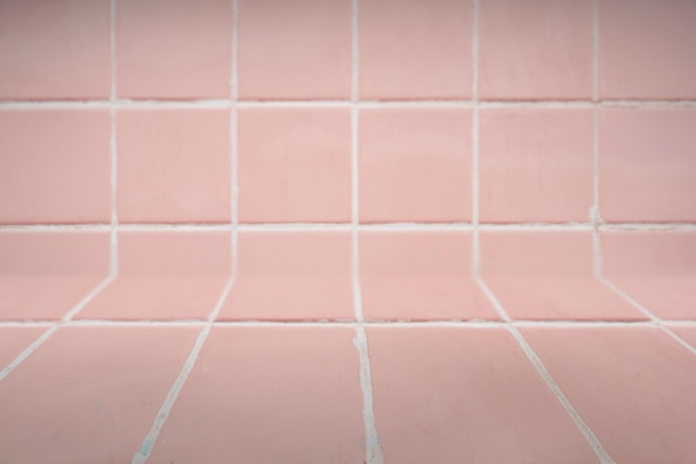 Pink tiled background